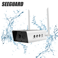 SEEGUARD 1080P Solar Cell Wireless Camera IP Camera Mobile Phone Home Monitor Outdoor Waterproof Safety HD Wifi Remote Office