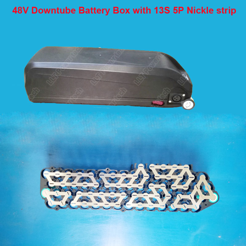High quality battery storage plastic box for 13S 5P or 10S 6P 18650 battery assembly with