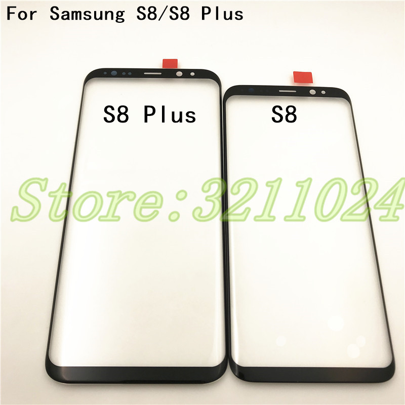 Front Touch Screen Outer <font><b>Glass</b></font> Lens Repair <font><b>Replacement</b></font> For <font><b>Samsung</b></font> <font><b>Galaxy</b></font> <font><b>S8</b></font> G950 / <font><b>S8</b></font>+ <font><b>S8</b></font> Plus G955 Touchscreen image