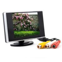 3 5 Car Monitor High Definition Car Color TFT LCD Monitor Rearview DVD W PAL NTSC