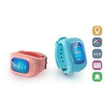 GPS Tracker Kinder Uhr Smartwatch D5 GSM SIM Test Anti-verlorene Uhr Kids Safe Auf SOS Voice Alarm Monitor zeigt Smart uhr für iOS
