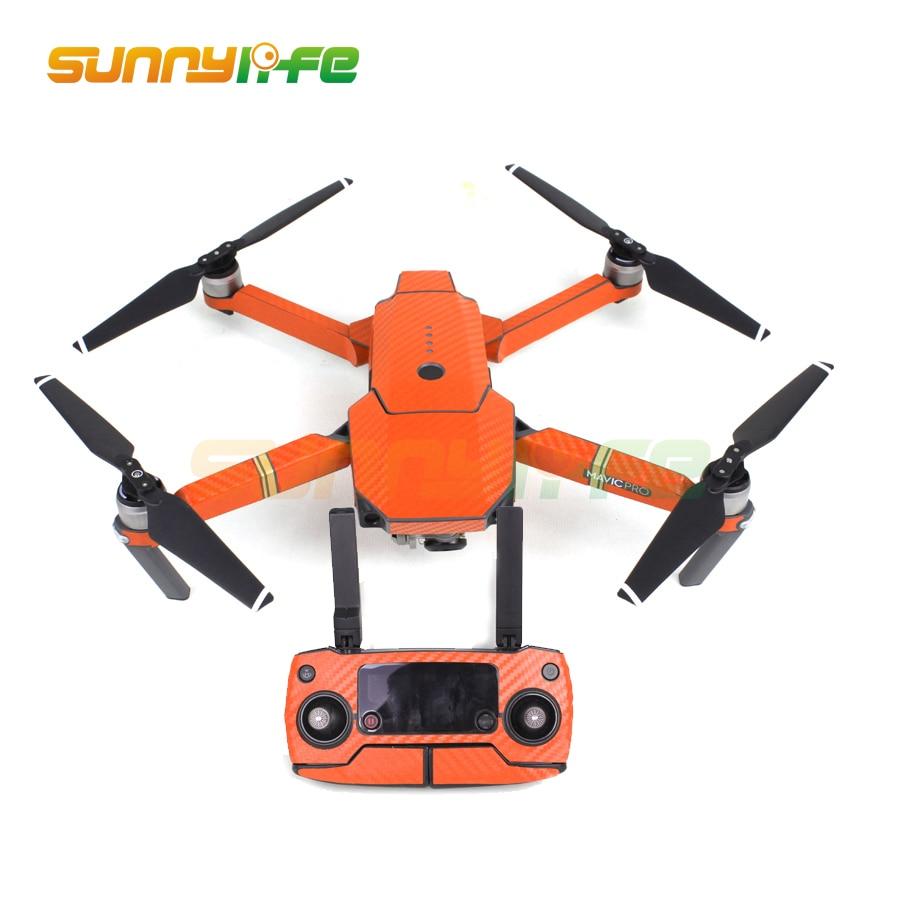 Vodootporni Carbon Grafički Naljepnice Skin Full Wrap Drone Tijelo + - Kamera i foto - Foto 4