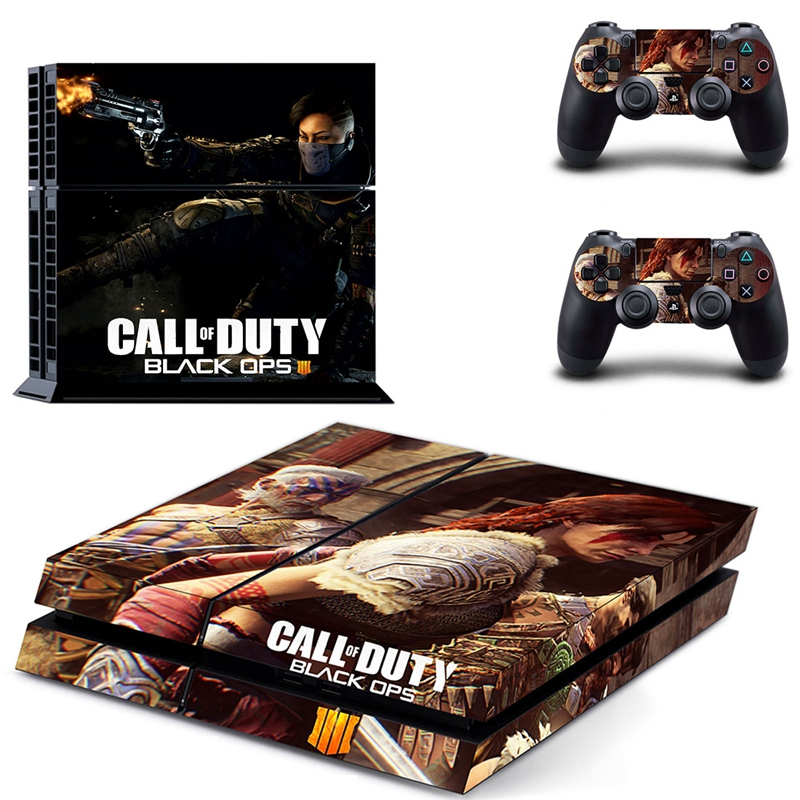 Image 4 - HOMEREALLY Stickers call of duty black ops 4 PS4 Skin Sticker for Sony Play Station 4 Console and Controller ps4 slim skin-in Stickers from Consumer Electronics