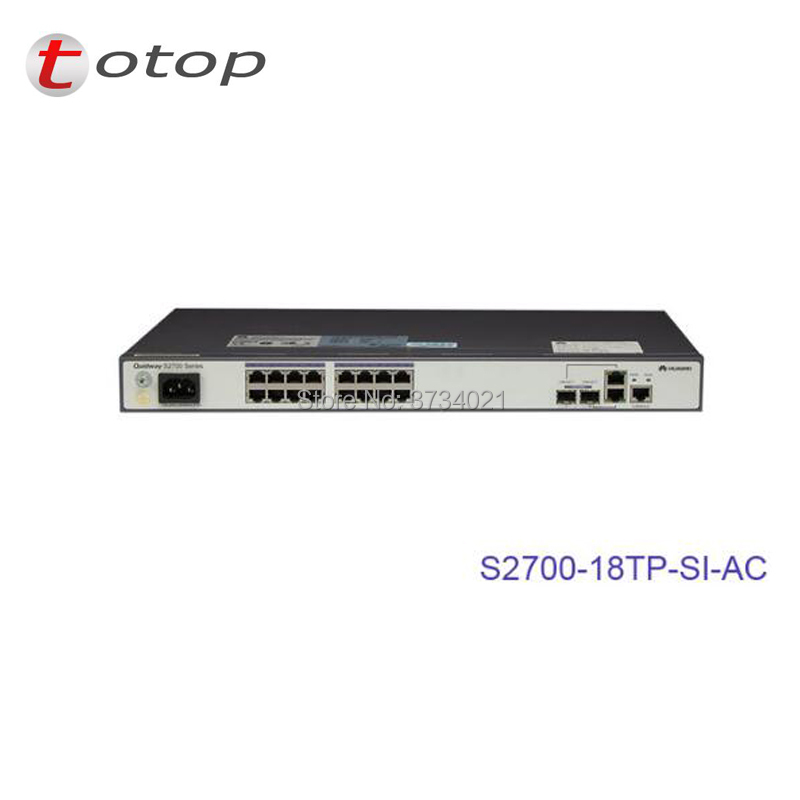 Huawei in stock 16 Ethernet 10/100 Ports SFP Switch S2700-18TP-SI-ACHuawei in stock 16 Ethernet 10/100 Ports SFP Switch S2700-18TP-SI-AC