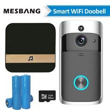 New battery wifi door video doorbell intercom wireless door belll video door phone doorphone camera support TF card цена