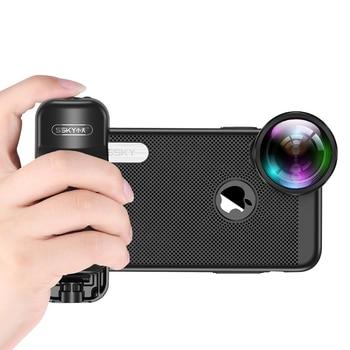 Ulanzi Selfie Booster Handvat Grip Bluetooth Foto Stablizer Houder met Ontspanknop voor iPhone X 8 7 Xiaomi Huawei Samsung