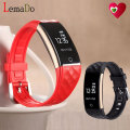 Lemado S2 Bluetooth Smart Band Heart Rate Fitness Tracker remote camera call reminder smartband Wristband For Android IOS Phone