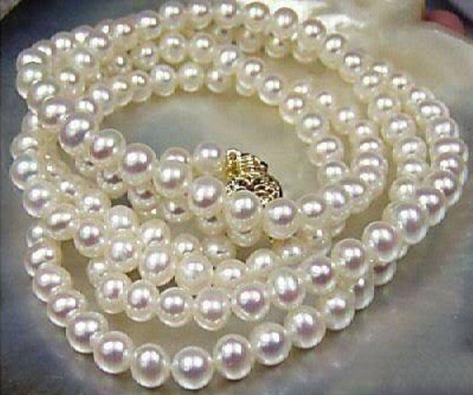 Naturale AAA Rotondo 8-9mm Mare a Sud Bianco Perla Collana 25 925 argentoNaturale AAA Rotondo 8-9mm Mare a Sud Bianco Perla Collana 25 925 argento