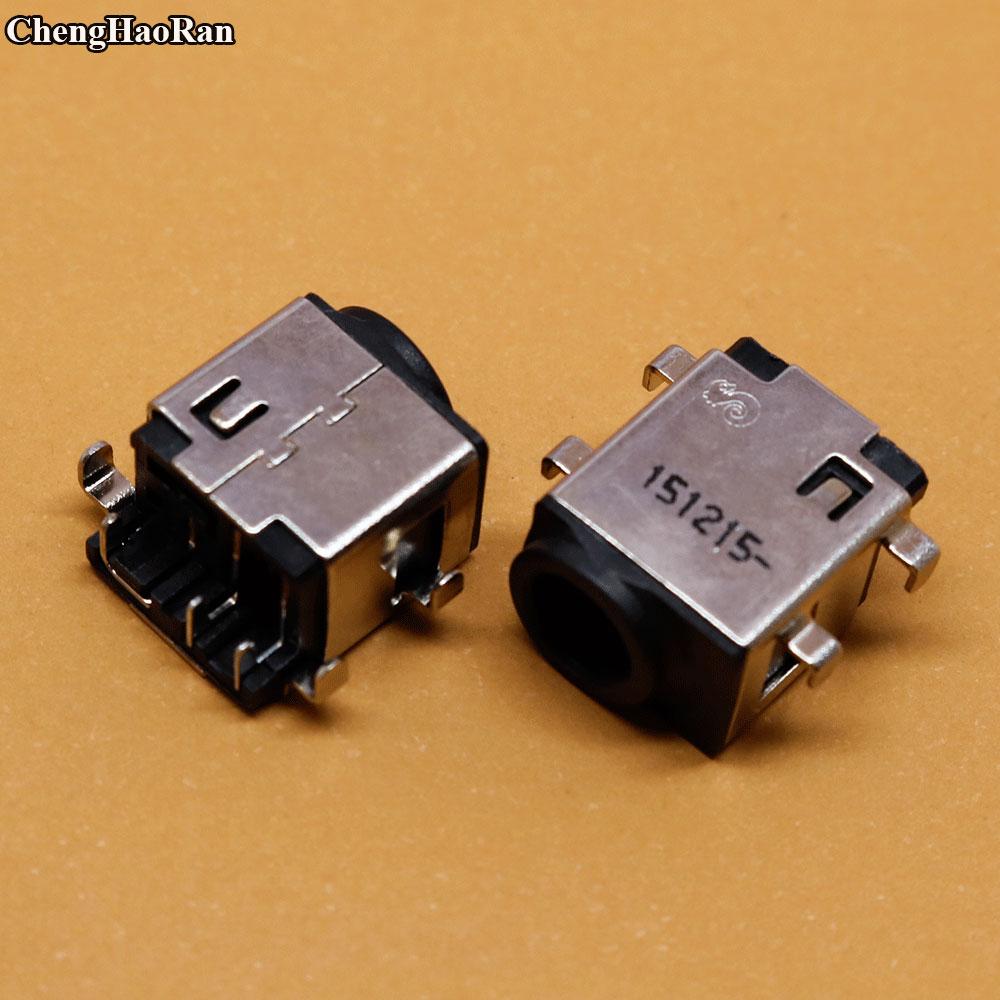 ChengHaoRan 5pcs New DC Power Jack for Samsung NP305E5A NP300E5A NP300V5A  NP300E4V NP300E4X NP300E5C NP300E5E NP300U1A NP305E7A cltgxdd new dc power jack connector for samsung np 305e5a 305v5a 300e np300e5a np300v5a np305e5a socket