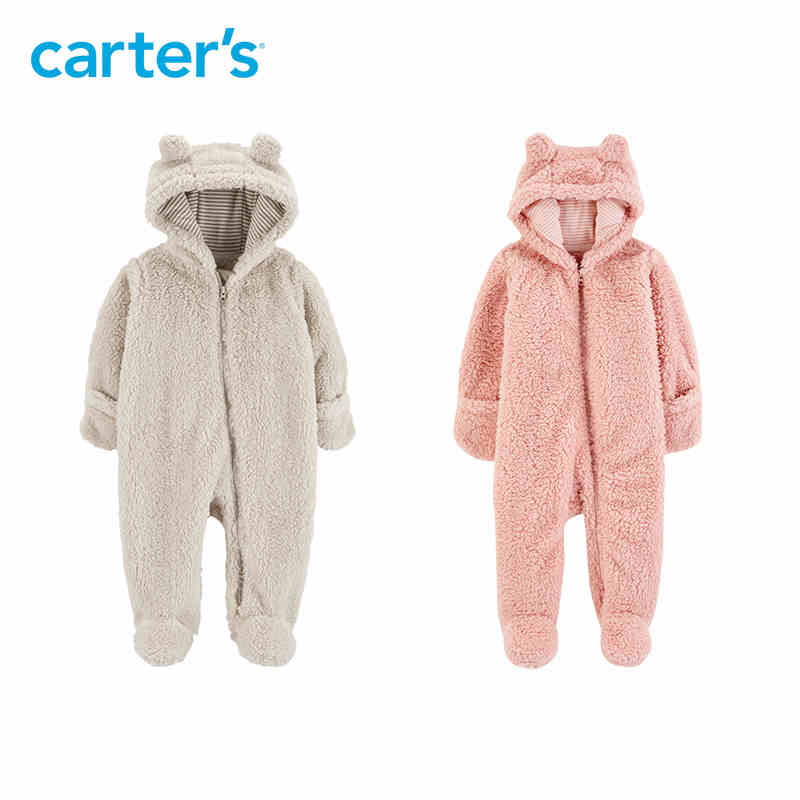 20db96e00464 Carters Baby Girls Sherpa Jacket  (Baby ) - Light Pink Carter  s ...
