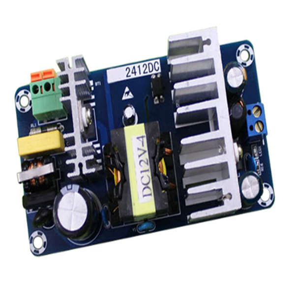 12V high-power switching power supply board module DC power supply module bare board module Blue 24v switching power supply board 4a 6a power supply module bare board
