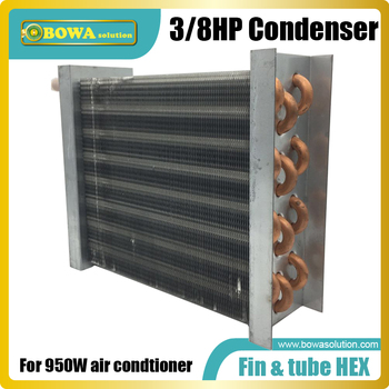 3/8HP fin & Tube heat exchanger sgreat choice for wine cooler, cabin air condtioner or solar freezer and air condtioners