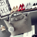 women leather handbag crossbody bag over shoulder tote sling Hobos retro zipper solid casual female bolsa high quality
