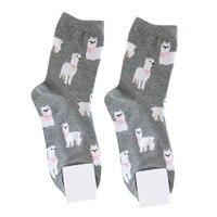 Лама носки для девочек носки Alpaca милые 10 пар/партия