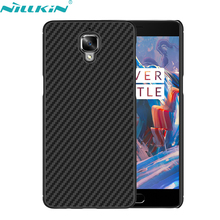 "For OnePlus 3 A3000 OnePlus3 5.5"" inch Case Original Nillkin Luxury High Quality Synthetic Fiber Back Cover Simple Acme Cases"