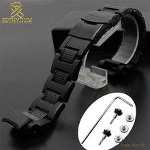 71973e98d5e1 Banda de plástico para casio GW-A1100 GW-4000 GA-1000 G-1400 correa de reloj  pulsera de reloj de alta calidad para hombre pulser.