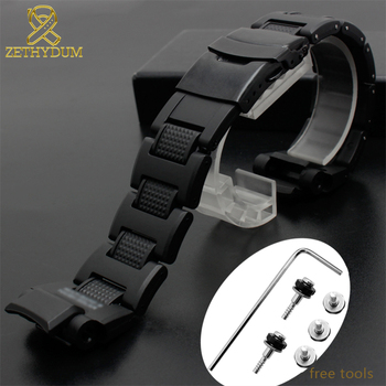 Plastic wathband for casio GW-A1100 GW-4000 GA-1000 G-1400 watch strap high quality watch bracelet mens sport wristwatches band new for caswatch gshock gw 3500b gw 3000b gw 2000 g 1200b g 1250bresin tape watchabnd watch band strap tool