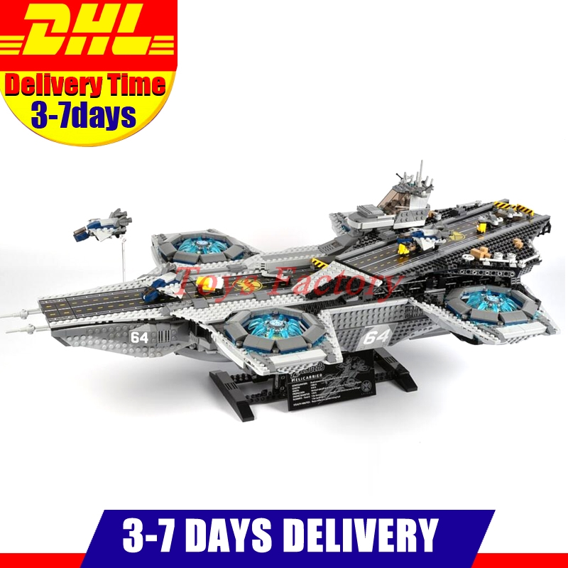 2017 Lepin 07043 Super Heroes The Shield Helicarrier Model Building Kits Blocks Bricks Toys Compatible 76042 dhl lepin 07043 3057pcs super heroes the shield helicarrier model building kits blocks bricks boy toys compatible 76042
