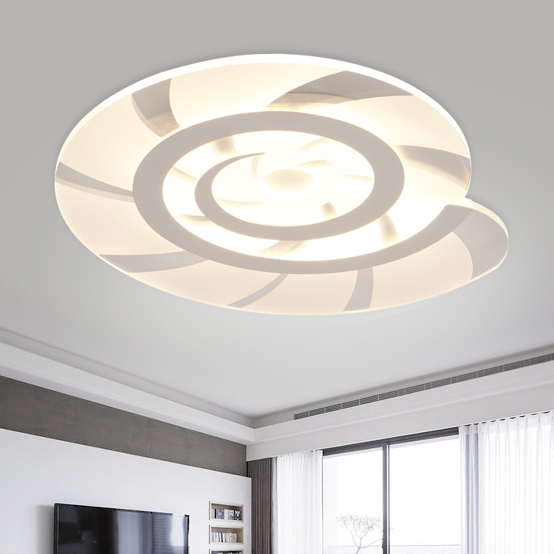 Shixinmao the slim and stylish led ceiling living room for Minimalist bedroom lighting