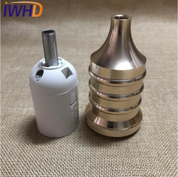 Portalampada, винтажный E27 патрон для лампы, фитинг, промышленный стиль, дуиль E27, винтажный патрон для лампы Эдисона, подвесное основание для патрона - Цвет: 15