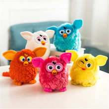 Children toy Electronic Interactive Toys Phoebe Firbi Pets Fuby Owl Elves Plush Recording Talking Smart Toy Gifts Furbiness boom(China)