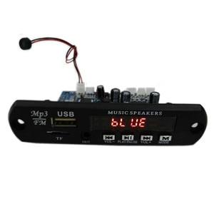 Image 2 - Tenghong MP3 מפענח לוח שני ערוץ מגבר אלחוטי Bluetooth 4.2 FM 10W + 10W 12V Lossless רכב רמקול APP אודיו מקלט