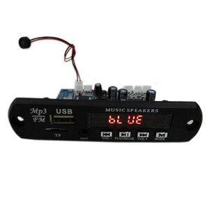 Image 2 - Tenghong MP3 декодер плата, двухканальный усилитель, беспроводной Bluetooth 4,2 FM 10 Вт 10 Вт 12 В без потерь, автомобильный динамик, приложение, аудио приемник