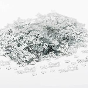"""Image 3 - Hot Selling 380Pcs Tafel Party Scatters Confetti Goud Zilver """"Just Married"""" Ontwerp Voor Diy Party & Wedding decoratie Benodigdheden"""