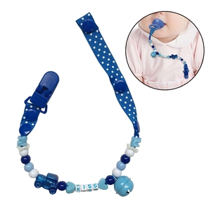 Baby Pacifier Clip Holder Chai