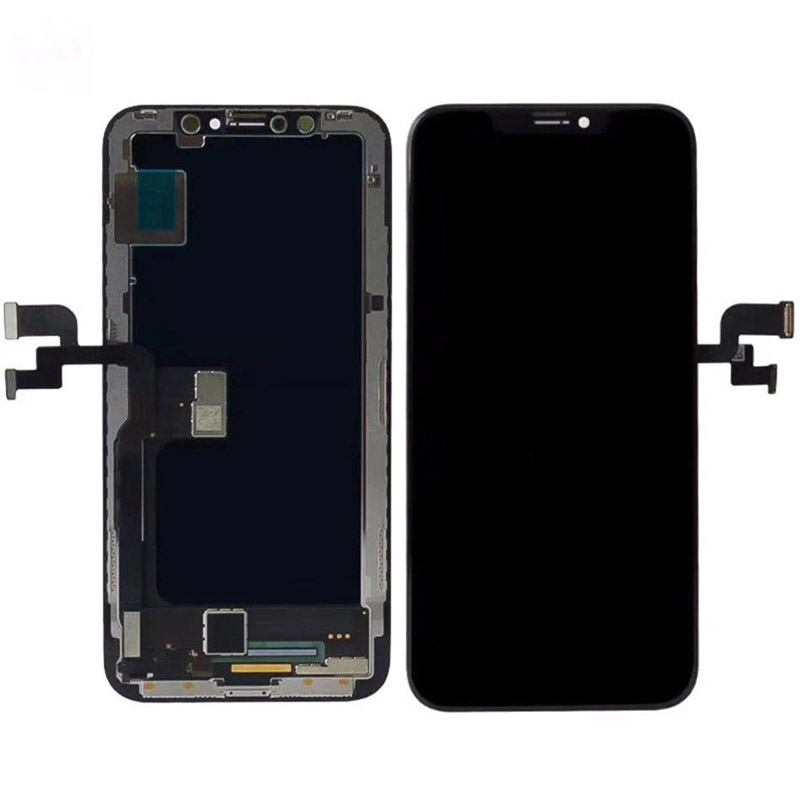 No Dead Pixel For iPhone X OLED TFT LCD Display Replacement With Face Recognition Assembly Free