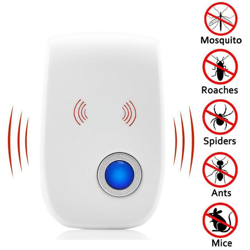 Electronic Cat Ultrasonic Anti Mosquito Insect Ultrasonic Pest Repeller Rat Mouse Cockroach Electronic Devices Deworming EU/US(China)