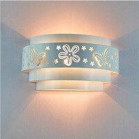 Moda criativa led bedlight quarto conduziu a luz da parede de ferro conduziu a luz da parede da casa do hotel|Luminárias de parede| |  -