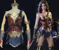 NEW Movie Batman V Superman Dawn Of Justice Wonder Woman Cosplay Costume For Adult Women Fashion