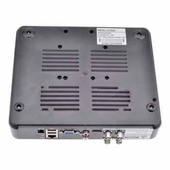 CCTV Mini DVR 4CH 5M-N 5 IN 1 VGA HDMI Surveillance Security CCTV Video Recorder DVR Hybrid NVR For CCTV Camera System