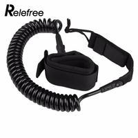Relefree מתכוונן חיצוני בטיחות יד קרסול גלישת דירקטוריון רצועת רגל ארוכה כרוך גלשן מסתובב ערכת רצועת ספורט מים