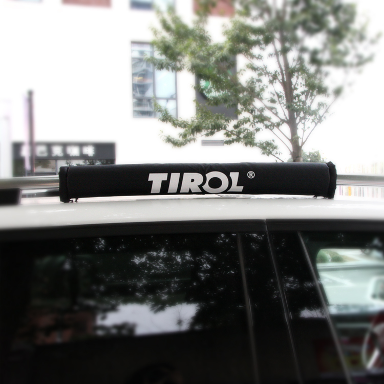 TIROL T21877 Pair (2pc) Soft Roof Rack Protector Black Luggage Rack Outdoor  Portable Removable Roof Of Skis Frame Free Shipping In Roof Racks U0026 Boxes  From ...