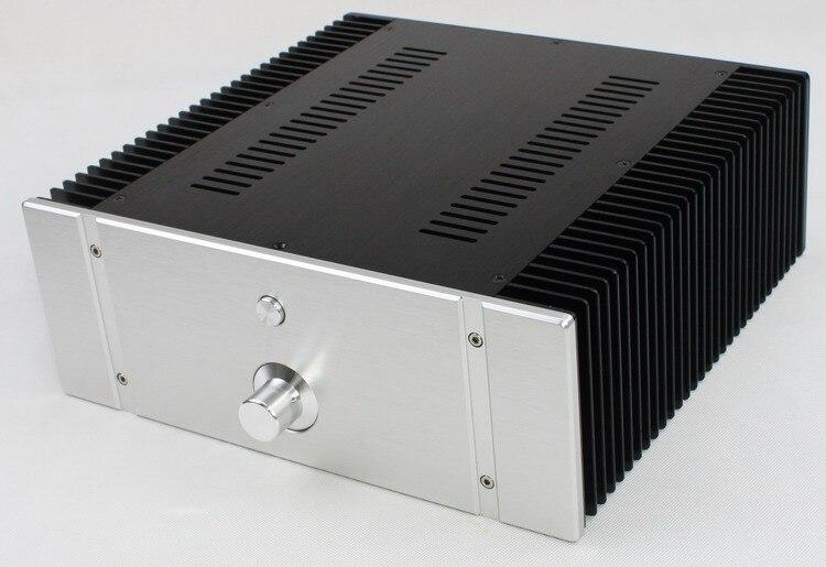 320 * 120 * 311mm WA76 All Aluminum Amplifier Case / Class A AMP Shell / DIY Box d 073 queenway 2612 blank cnc full aluminum small class a amplifier audio box amp case 260mm 120mm 311mm 260 120 311mm