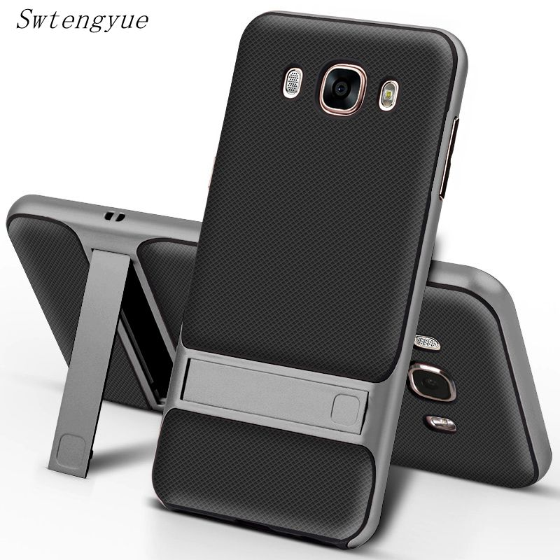 Чехол для Samsung Galaxy <font><b>J5</b></font> <font><b>2016</b></font> 5.2 &#8220;, PC + TPU ультра-тонкий роскошный задняя крышка для Samsung Galaxy J7 <font><b>2016</b></font> 5.5 &#8220;анти стук телефон В виде ракушки