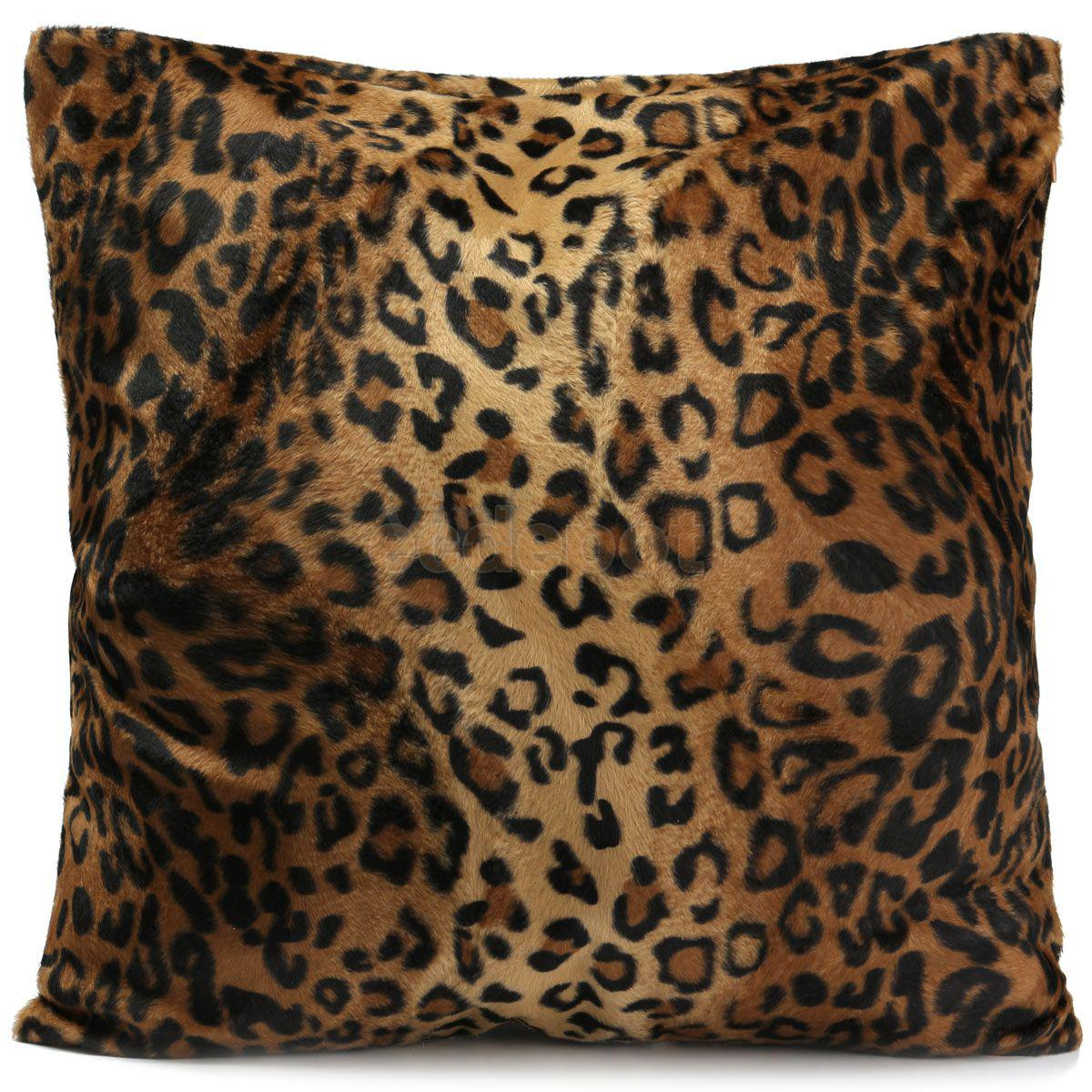 Leopard Zebra Print Pillow Case Sofa Throw Cushion Cover Home Bed Decor 5  Patterns(China