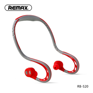 Image 2 - Remax S20 sports In ear Earphone bluetooth Headphone 4.2 Super Bass Stereo Noise Isolating Earbuds Headsets for Mobile Phone/pc