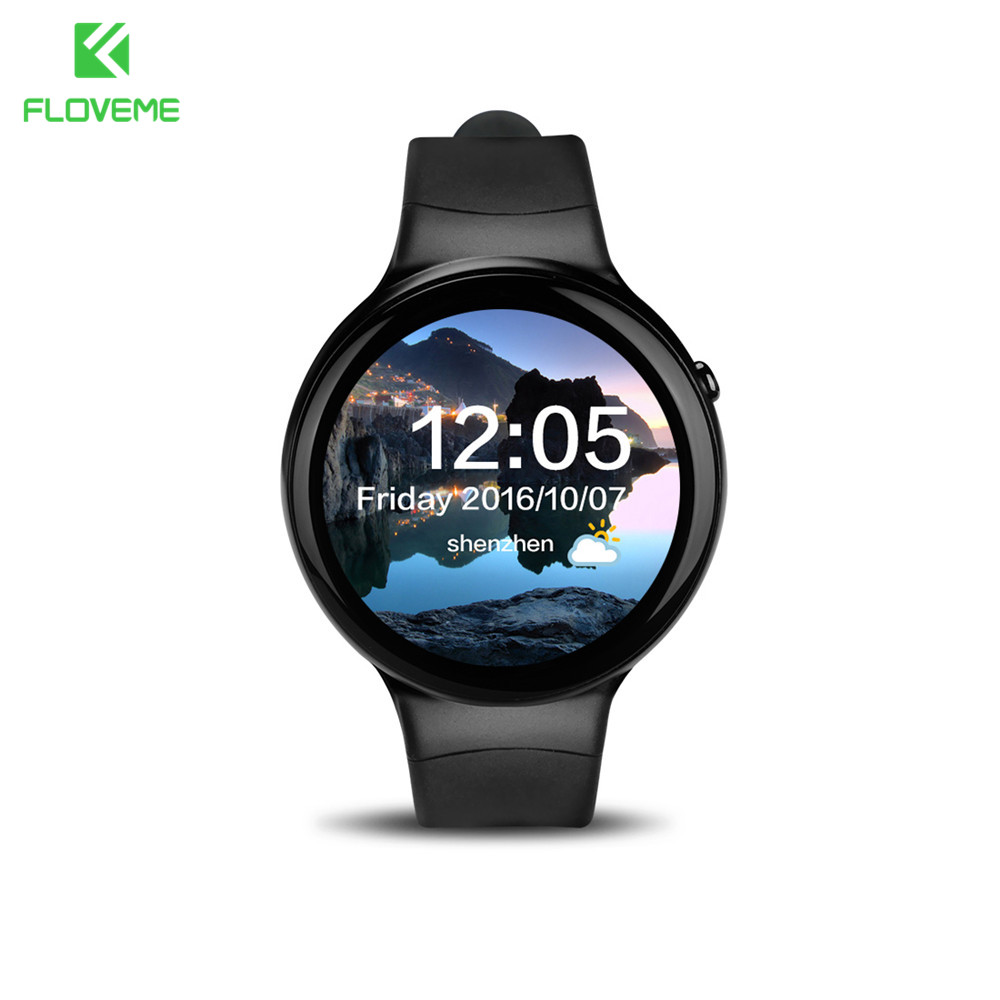 FLOVEME Smartwatch For Android Phone MTK 6580 Support TF SIM Card 3G Wristwatch Bluetooth Smart Watch For Samsung Huawei Android zaoyiexport l6 bluetooth smart watch support sim tf card hebrew language smartwatch for iphone xiaomi android phone pk dz09 gt08