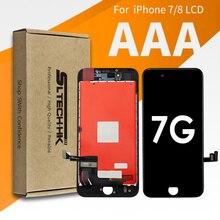 Aaa + + + iphone 7 8 液晶 3Dタッチスクリーン交換 7 プラス 8 プラスディスプレイ 100% デッドピクセル保証高品質