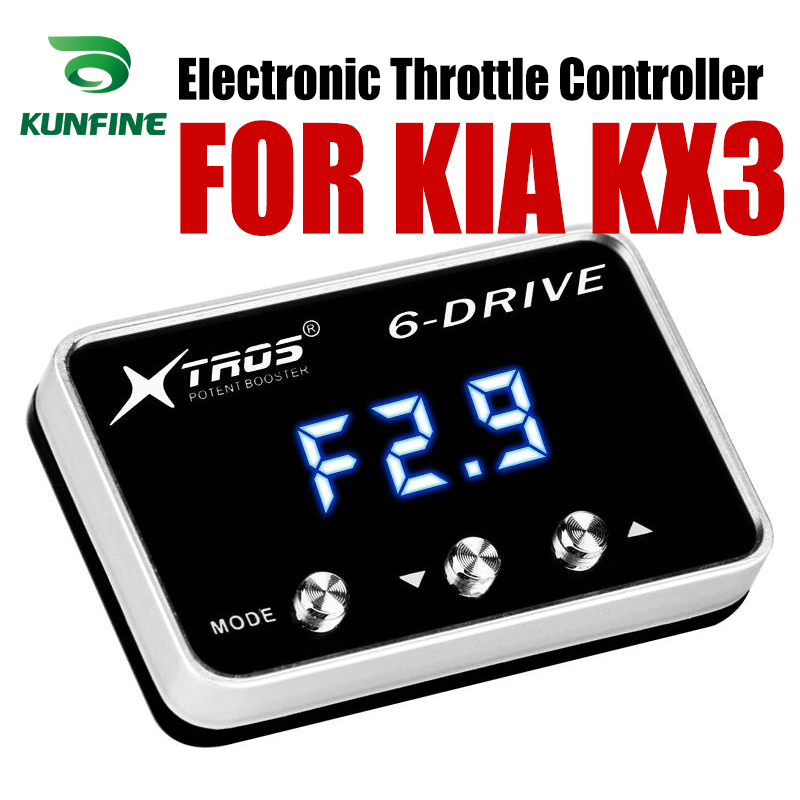 Car Electronic Throttle Controller Racing Accelerator Potent Booster For KIA KX3 Tuning Parts AccessoryCar Electronic Throttle Controller Racing Accelerator Potent Booster For KIA KX3 Tuning Parts Accessory