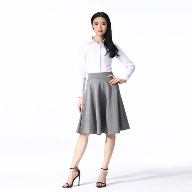 Mnogcc Faldas Mujer Moda Skirt