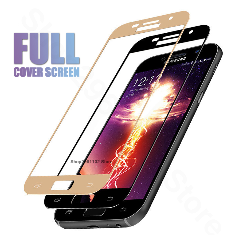 3d Curved Surface Screen Cover Coverage Tempered Glass Film For Samsung J7 2016 Gold Resmi Samung Penutup Untuk Galaxy J2 J6 J4 2018 Pelindung Kaca 2017