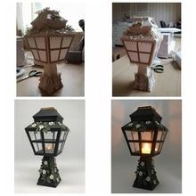 3D Standing Lantern Metal Cutting Dies Stencils for DIY Scrapbooking Paper Cards Craft Decorative New Embossing Handmade