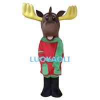 Бесплатная доставка Высокое качество Новогодние товары оленей талисман Новогодние товары олень талисмана