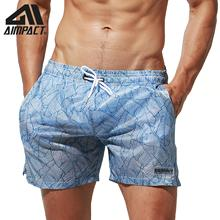 Desmiit Fast Dry Tropical Board Shorts for Men Light Weight