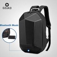 OZUKO Men 15.6 Laptop Backpack Fashion Waterproof Teenager Schoolbag Multifunction Male Travel Mochila USB Bluetooth Backpacks