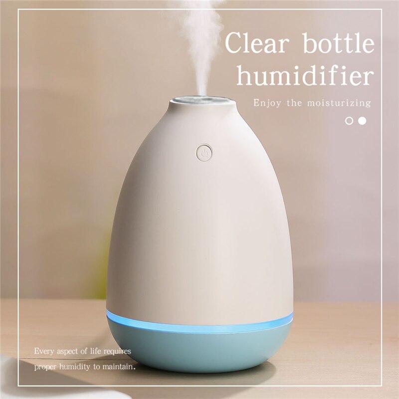 все цены на 200ML Ultrasonic Humidifier USB Car Humidifier Electric Mini Aroma Essential Oil Diffuser Aromatherapy Mist Maker Home Office онлайн